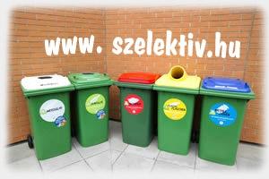 2015-t�l k�telez� a szelekt�v hullad�kgy�jt�s