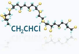 pvc molekula
